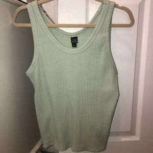 Brand New Wild Fable Mint Green Ribbed Tank Top